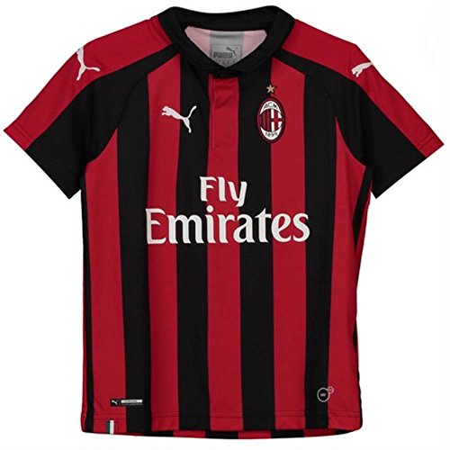 PUMA 2018-2019 AC Milan Home Shirt (Kids)