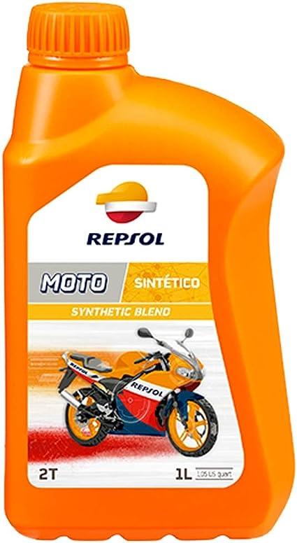 Repsol RP150W51 Moto Sintetico 2T Aceite de Motor, 1 L: Amazon.es ...