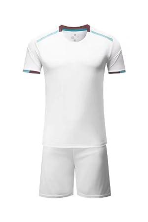 9390a56cb Soccer Jersey Kits Men s Football Tracksuits Club Team Training Set  Sportswear Uniform US Size S  Amazon.co.uk  Sports   Outdoors