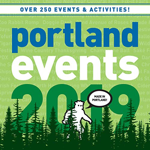 Portland Events 2019 Wall Calendar - Over 250 Portland Oregon Event Dates and Activities Already On Your - Calendar Shamrocks