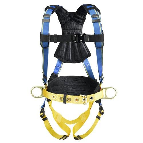 Werner H133102 Blue Armor 2000 Construction Harness, Quick Connect Legs (M/L) by Werner (Image #1)