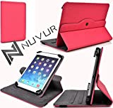 ||Hot Pink|| Adjustable Flip Case Cover + Built In Stand Linsay 7