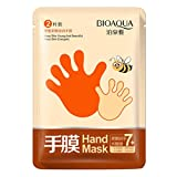 Hand Mask, Toraway 1 Pair Exfoliating Moisture White Hand Mask Peeling Remove Hard Dead Skin Mask Makeup