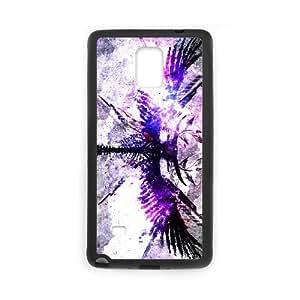 angel symbol Samsung Galaxy Note 4 Cell Phone Case Black yyfD-105195