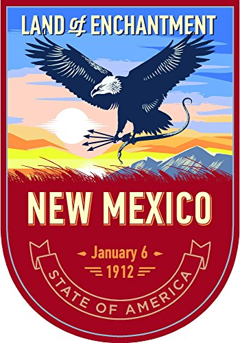 New Mexico State Animal - State animal New Mexico day 4x5.5 inches sticker decal die cut vinyl - Made and Shipped in USA