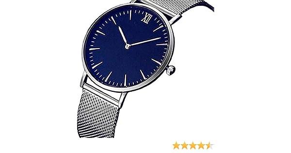 Scpink Relojes de Cuarzo para Mujer, Reloj de Lujo Fahion Pop Relojes para Mujer Relojes analógicos Reloj de Acero Inoxidable Reloj con Correa de Malla de ...