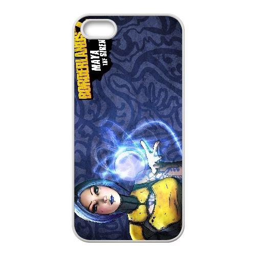 M6X67 Frontière maya N8M2IE coque iPhone 5 5s cellulaire cas de téléphone couvercle coque blanche WY1RVE1LV