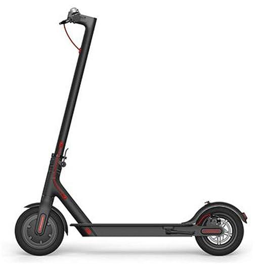 Quskto Scooter eléctrico Plegable, Negro Plegable Scooter ...