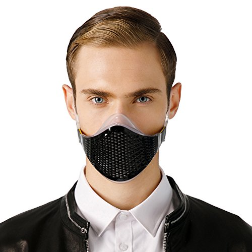 MeHow Stylish Gas mask, Asthma mask, Respirator mask,Safety mask,Anti-Pollution Mask with Replaceable Filters, Anti-Dust,Reusable Respirator Mask for Outdoor Sports (1 Mask + 2 Filte) by MeHow