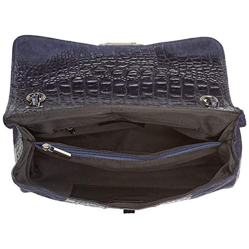 Chicca Borse Blu In Pelle Tripack Made Italy q6OgqCxw