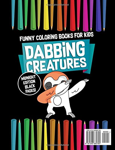 Funny Coloring Books for Kids: Dabbing Creatures: The Dabbing ...