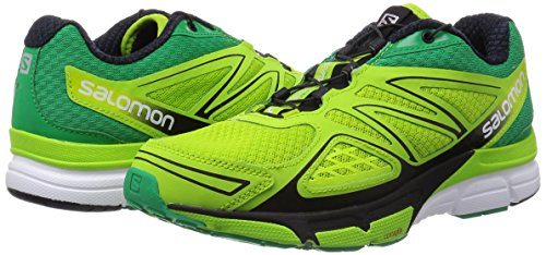 Salomon X-Scream 3D - Zapatillas para hombre Granny Green/Real Green/White