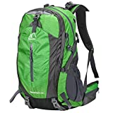 Terra Hiker 40L Hiking Backpack, High Capacity Daypack with Effective Carrying System & Rain Cover for Travelling, Climbing