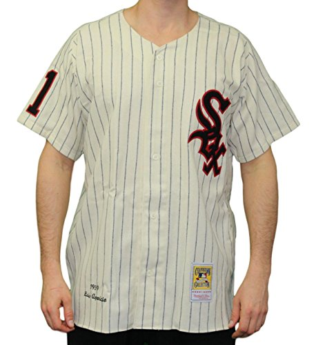 (Mitchell & Ness Luis Aparicio Chicago White Sox Authentic 1959 Wool Home Jersey)