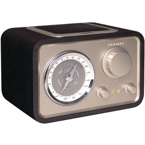 Crosley Solo Radio CR3003A Black by Deer Park Distributors