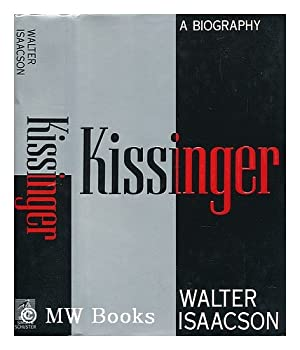 Kissinger: A Biography 0684825570 Book Cover