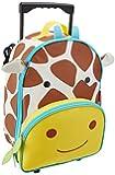 Skip Hop Zoo Little Kid Rolling Luggage, Jules Giraffe
