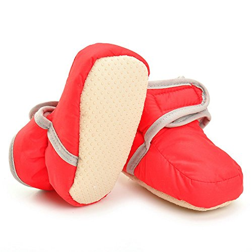 Pictures of Enteer Infant Waterproof Snow Boots Premium Soft 6