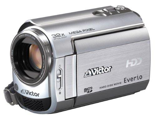 Victor Everio GZ-MG220-S HDD 30GBハードディスクムービー プレシャスシルバー