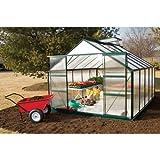 GrowSpan Estate Hobby Large Greenhouse - 9'1W x 7'3H x 12'2L w/Base