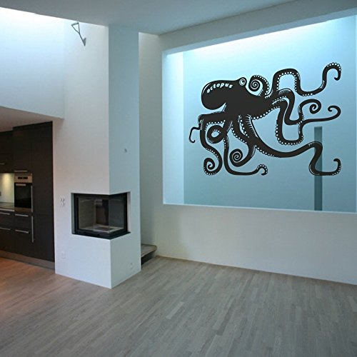 Cheap  Octopus wall decal Kraken Wall Sticker Ocean Sea Animal Wall Graphic Octopus..