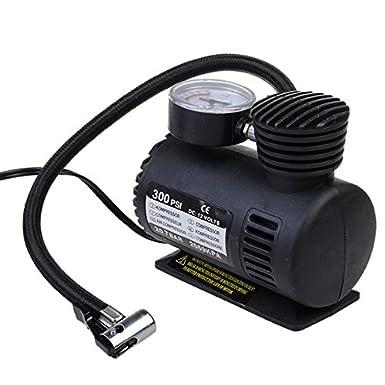 12 V Compresor de aire auto bomba eléctrica portátil inflador de neumáticos 300 PSI: Amazon.es: Electrónica