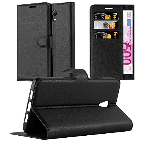 Cadorabo Book Case Works with Lenovo P2 in Oxid Black for sale  Delivered anywhere in USA