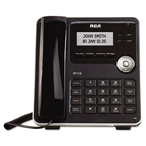 * IP110S ViSYS Business Class VoIP Corded Two-Line Phone by MOT