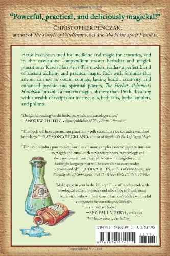 Herbal Alchemist's Handbook, The: A Grimoire of Philtres. Elixirs, Oils, Incense, and Formulas for Ritual Use - incensecentral.us