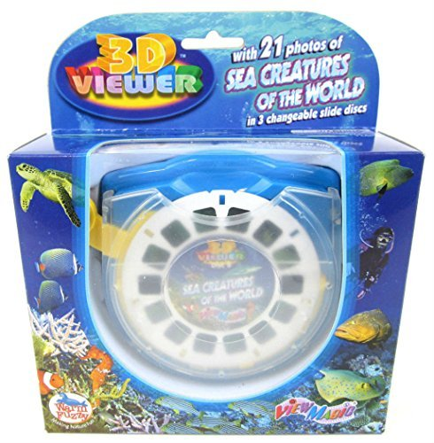 3D Viewer SEA CREATURES of the World Set Box Viewmaster Marine Life 3 Reels by Unbranded (Image #1)