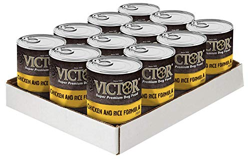 "Victor Chicken & Rice Formula ""Pate"" Dog Food - Canned"