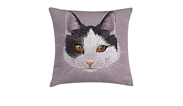 Amazon.com: XGUPKL Animal Throw Pillow Cushion Cover, Cute ...