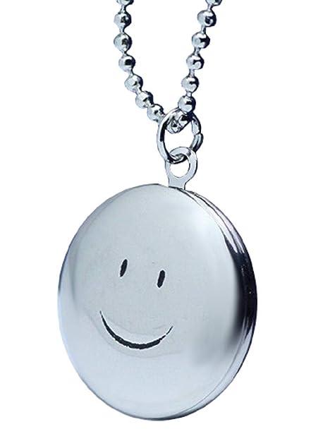 Lovelegis Collar de Mujer - Smile - Emoji - Cara Sonriente ...
