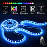 Best Led Light Strips - LED Strip Lights with Remote 5M 16.4 Ft Review