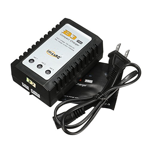 Price comparison product image Qsmily iMaxRC iMax B3 Pro Compact 2S 3S 7.4V / 11.1V Lipo Balance Battery Charger US Plug For RC Helicopter 3x Bicolor LED