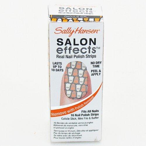 Sally Hansen Salon Effects Real Nail Polish Strips- Ghoul...