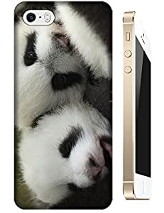 Baby Pandas Sleep together Lovely cute cell phone cases For Iphone Accessory for iphone 5c