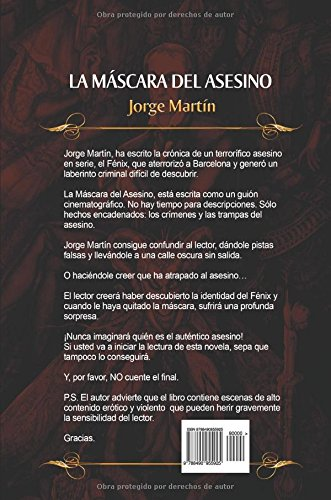 La máscara del asesino (Spanish Edition): Jorge Martín: 9788490955925: Amazon.com: Books