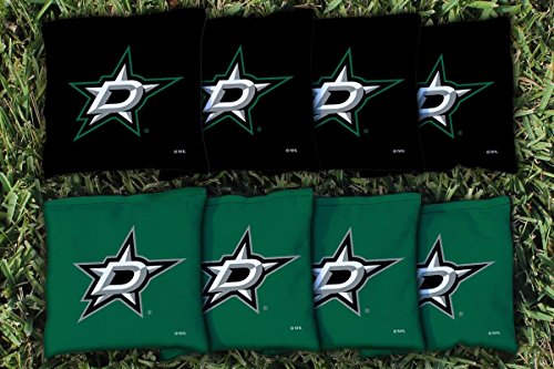 - Victory Tailgate 8 Dallas Stars NHL Cornhole Game Bag Set (8 Bags Included, Corn-Filled)