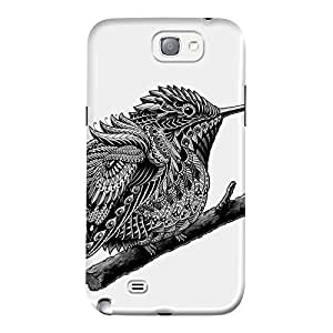 DailyObjects Humming Bird Case For Samsung Galaxy Note 2 N7100 (Back Cover)