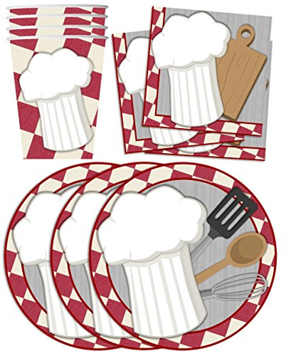 Cooking Birthday Supplies Napkins Tableware