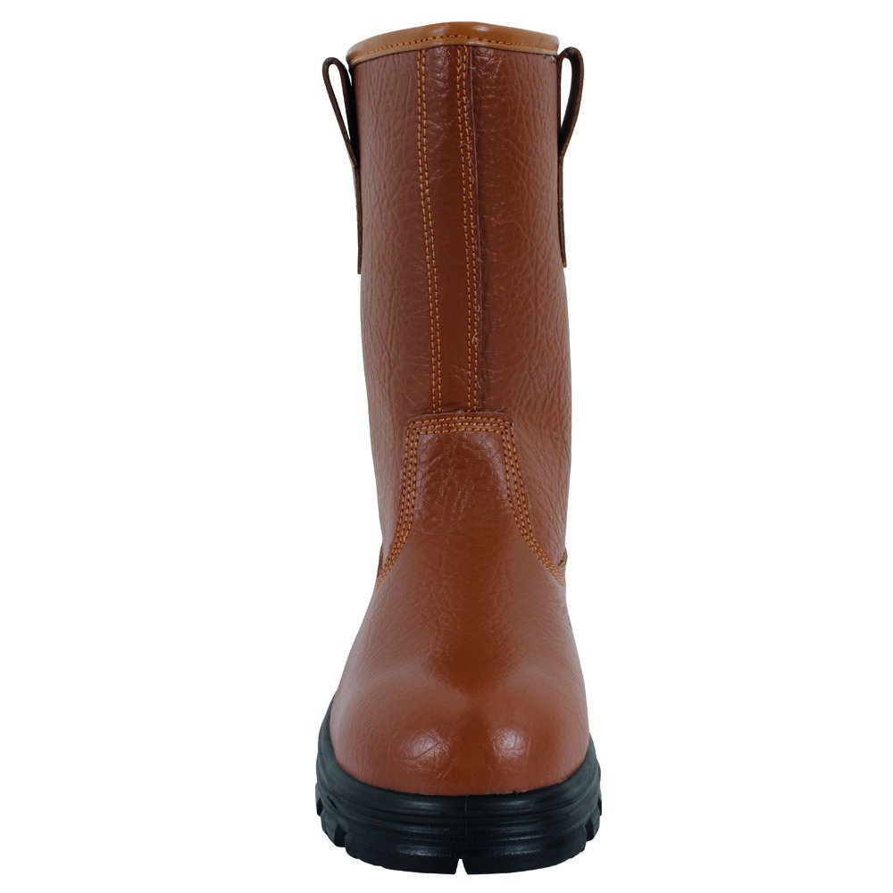 Tan Blackrock SF01 Fur Lined Safety Rigger Boot Size 5 S1-P SRC