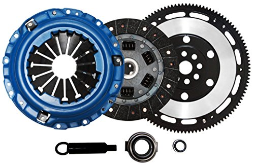 (QSC Acura Integra B Series 94-01 Stage 2 Clutch Kit + Forged Lightweight)