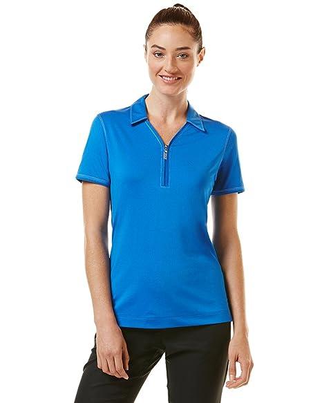 Callaway Womens Golf Industrial Stitch Short Sleeve Polo Shirt ...