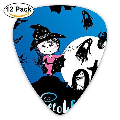 Halloween Scary Background Guitar Picks 12