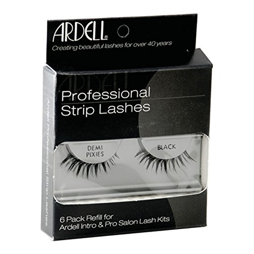 Ardell Professional Strip Lashes InvisiBand DEMI PIXIES 6 Pack Refills