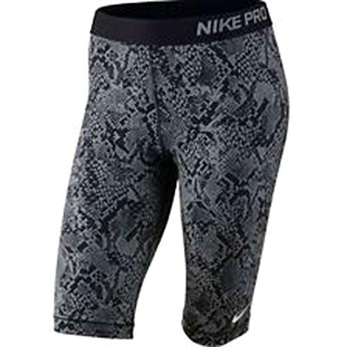 Women's Nike Pro Running Compression Tights Black Grey 823478 065 (m)
