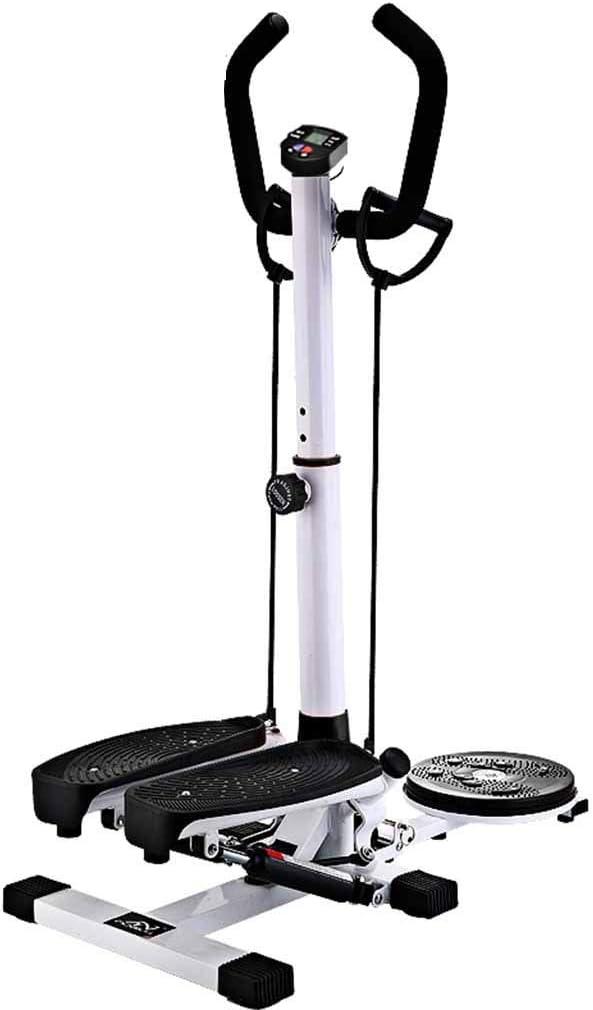 Escalera con placa estriada para ejercicios cardiovasculares 2 en 1 con función de muli-función con cuerda de tracción para gimnasio, entrenamiento en casa, escalador Rosclou@: Amazon.es: Hogar