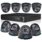 JOOAN TC-570DVR-8Y-A 8CH DVR P2P Surveillance Digital Video Recorder System With CCTV Security Camera Support Night Vision