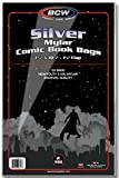 (500) Silver Age Mylar Comic Sleeves - 2 Mil Thick - BCW